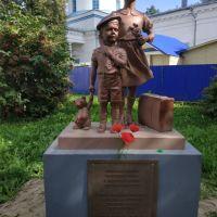 Памятник детям Ленинграда., Нолинск
