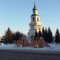 Площадь Новогодняя утром, Слободской
