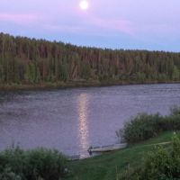 Река Ижма 5июня 22 часа 2017, Сосногорск