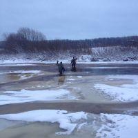 Ноябрь.Акимские ребята переходят Сюзью, Сосногорск