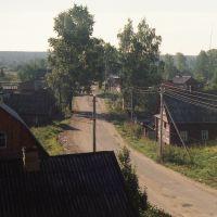 Парфеньево  (90е гг) дорога  на Николо-Полому, Парфентьево