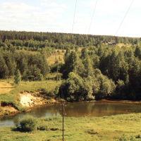 река НЕЯ    дер  ФРОЛОВО   (середина 90х), Парфентьево