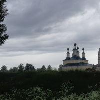 Вид на Богородицкую церковь, Солигалич