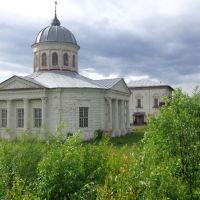 Вид на Преображенскую ц., Солигалич