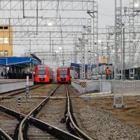 Ласточка Краснодар-Анапа и Анапа-Краснодар курсирует ежедневно с железнодорожного вокзала Анапы два раза в день., Анапа
