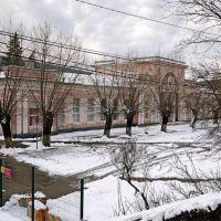 Здание вокзала станции Тоннельная, январь 2019  г., Верхнебаканский