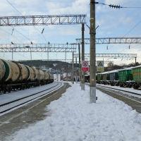 Станция Тоннельная, январь 2019 г., Верхнебаканский