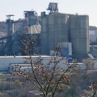 Верхнебаканский цементный завод, март 2019 г., Верхнебаканский