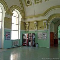 Интерьер вокзала станции  Тоннельная, Верхнебаканский