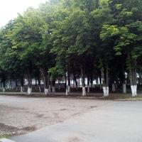 Парк с Аллеей Звёзд, Кореновск