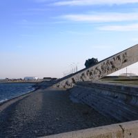 Мемориал зимой в норд-ост, Новороссийск