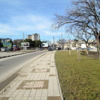 Перекрёсток Видова и Луначарского, Новороссийск