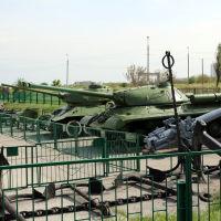Музей боевой техники на Малой, Новороссийск