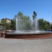 Поющий фонтан на Динамовской, Новороссийск
