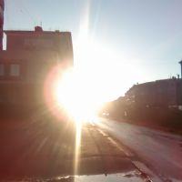 закат в городе Дудинка, Дудинка