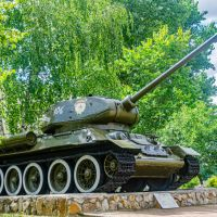 Танк Т-34-85, Курск