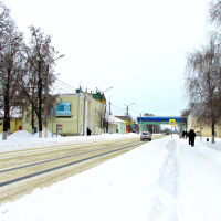 Зима в городе, Фатеж