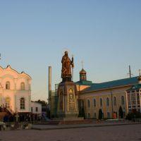 Вечер в монастыре., Задонск