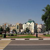 Площадь Петра Великого. Липецк, Липецк