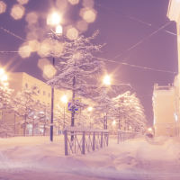Снежный Магадан, Магадан