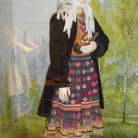 костюм луговой марийки из Национального музея, Йошкар-Ола