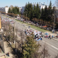 Ленинский Проспект , Демонстрация 1 мая 2017, Йошкар-Ола