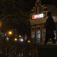 вид на памятник Чавайну (бульвар Чавайна), Йошкар-Ола