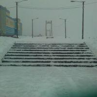 вход на Вантовый Мост, Йошкар-Ола