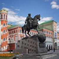 Памятник основателю города князю Оболенскому. Йошкар-Ола, Йошкар-Ола