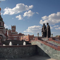 Памятник Петру и Февронии. Йошкар-Ола, Йошкар-Ола