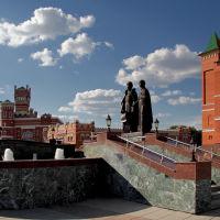 Памятник Петру и Февронье, Йошкар-Ола