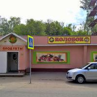 Бывшая булочная,сейчас магазин продукты (ул. Адмирала Жильцова,4)  05.2016, Ивантеевка
