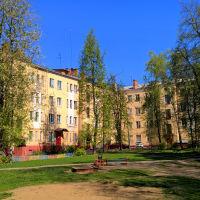Двор (ул. Первомайская,30/2)  05.2016, Ивантеевка