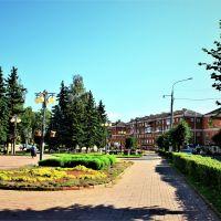 Вид на ул. Гагарина., Клин