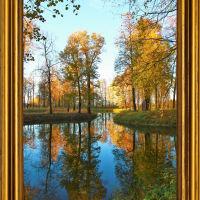 Осень золотая . Парк Майданово., Клин