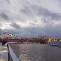 Крымский мост, Москва