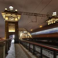 Бережковский мост, Москва