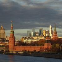 Вид на Кремль., Москва