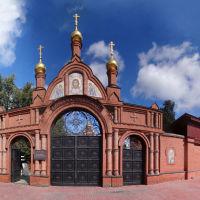 ворота женского монастыря у Красносельской, Москва