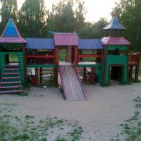 детская площадка, Пущино