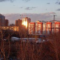 Вид на улицу Победы., Реутов