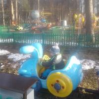 Городской парк им. Гагарина .г. Шатура. Веселые карусели.2017год, Шатура