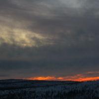 февральский закат, Никель