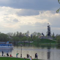 Набережная реки Волхов, Новгород