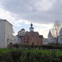 Ярославово дворище, Новгород
