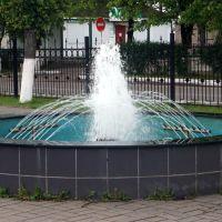 Окуловка, фонтан в привокзальном сквере, Окуловка