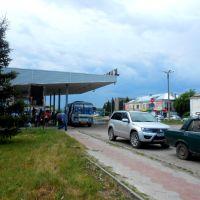 автовокзал хмурится, Карасук