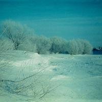 Окраина деревни (ул. Мира), 1975 г, Краснозерское