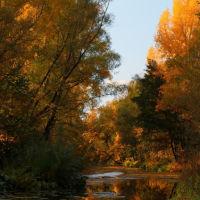 Осення пересохшая р.Кураганка г.Кувандык, Кувандык