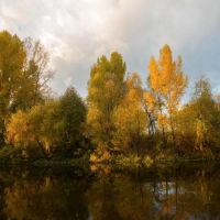 Осенняя  р.Сакмара  г.Кувандык, Кувандык